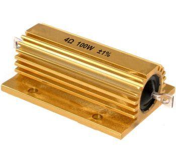 RES4-100W Passiivinen vastus 4 Ohm 100W resistori