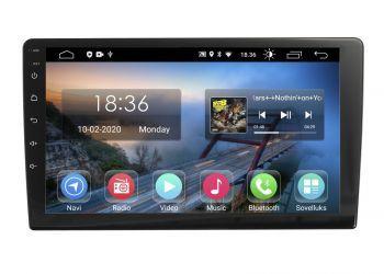 Universal 10 tuuman Android 10 Navigointiboksi, Multimediasoitin