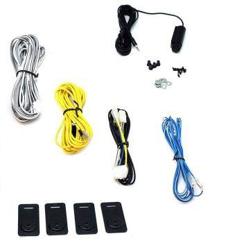 EHSW8ACT Cables Bassosäädin, Virtakitit