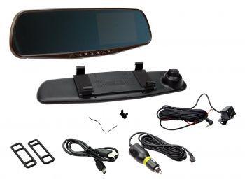 CAM-KIT7 Peilinäyttö + 2 x Kamera Peruutuskamera, Peilinäyttö
