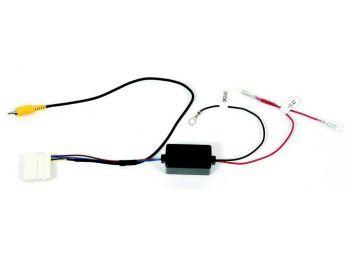 CAM-NS1-RT Nissan alkuperäinen peruutuskamera jälkiasennettuun autosoittimeen adapteri