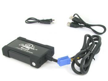 CTAARUSB001 Alfa Romeo autokohtainen USB AUX 3.5mm adapteri