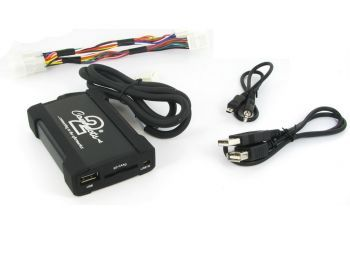 CTATYUSB002 Toyota autokohtainen USB AUX 3.5mm adapteri
