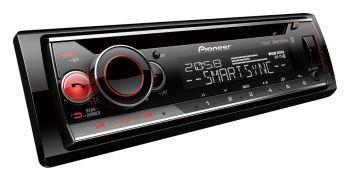 Pioneer DEH-S520BT Bluetooth DSP aikaviive autosoitin