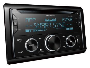 Pioneer FH-S720BT – 2DIN Bluetooth DSP aikaviive autosoitin