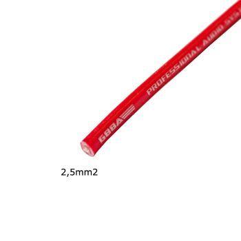MDS PCx0251 happivapaasta kuparista (OFC100%) valmistettu 2.5mm2 virtakaapeli