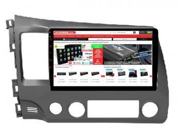 Honda Civic - 9 tuuman Android 8.1 Navigointi, Multimediasoitin