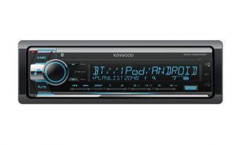 Kenwood KDC-X5200BT – Bluetooth DSP aikaviive autosoitin