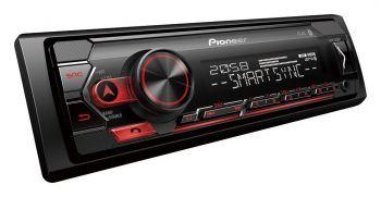 Pioneer MVH-S320BT pesätön Bluetooth autoradio