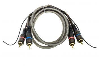 MDS RCA-1 Fanatic 1m RCA parikaapeli 2 x RCA uros – 2 x RCA uros