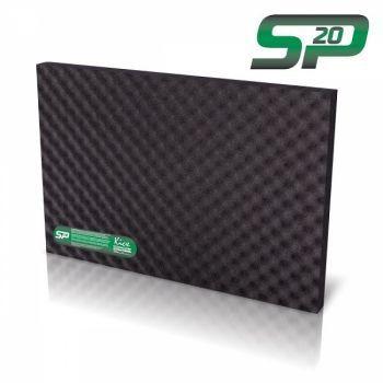 KICX SP 20 akustiikkamatto tarrapinnalla 20mm x 0.75mm2