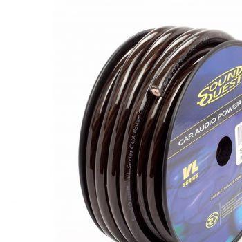 Stinger SQVLP8BK seos (CCA) virtakaapeli 8.5mm2 mattamusta