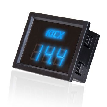 KICX VT01 VOLTMETER volttimittari 10 - 32V.