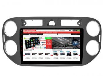 VW Tiquan - 9 tuuman Android 8.1 Navigointi, Multimediasoitin