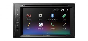 """Pioneer AVH-A210BT 6.2"""" DVD Bluetooth Multimediasoitin"""