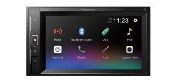 """Pioneer MVH-A210BT pesätön 6.2"""" Bluetooth Multimediasoitin"""
